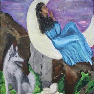 ציור של זאב