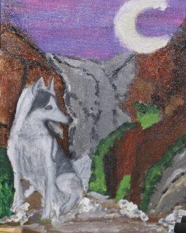 מבטו של הזאב אל האופק