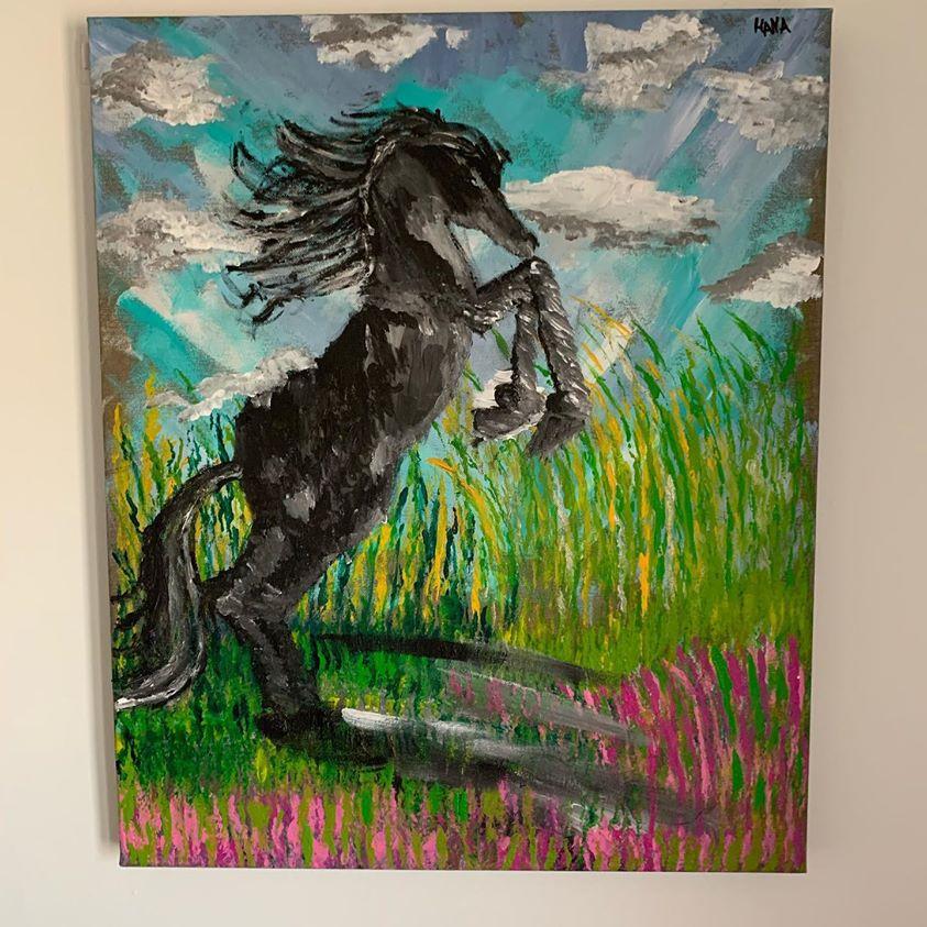 ציור של סוס