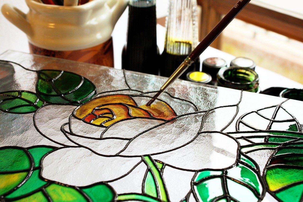 צבעי זכוכית